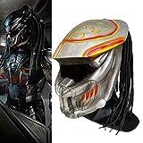 Alien Vs. Predator Mask with Dreads Hair...