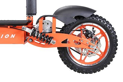 E-Scooter Roller Original E-Flux Vision mit 1000 Watt 36 V Motor Elektroroller E-Roller E-Scooter in vielen Farben (Orange) - 8