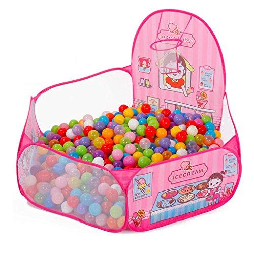 Baby Home Toy House Clôture de Jeu pour Enfants Garçon et Fille Centre d'activité de sécurité Indoor Tir Tir Tir Clôture Ocean Ball Pool (Color : A. Pink 1, Size : 60 * 72 * 120cm)