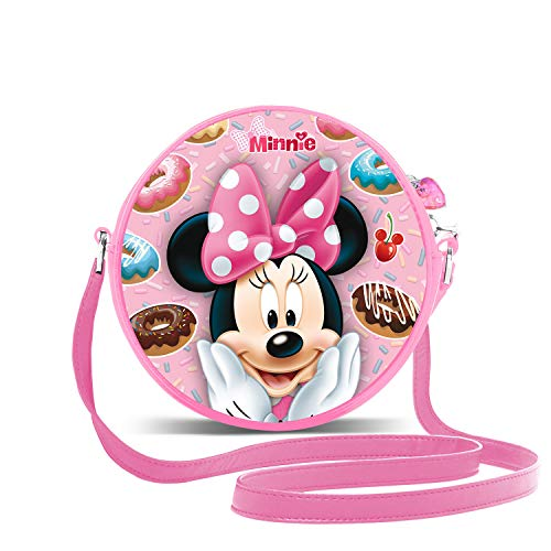 KARACTERMANIA Minni Mouse Yummy-Borsa a Tracolla Rotonda 3D