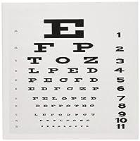 フローレンユーモア–Eye Chart–グリーティングカード Set of 12 Greeting Cards