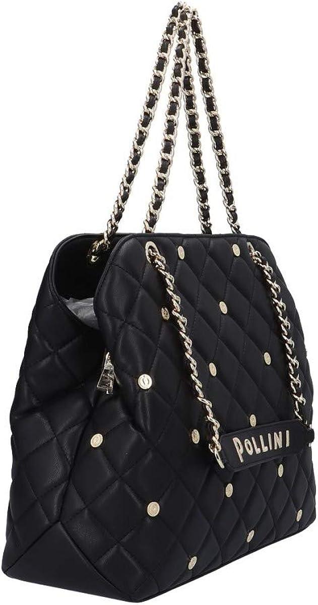 Pollini SC4516PP1BSH1000 Sac à bandoulière NeroCuir Noir