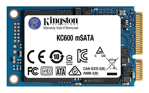 Kingston KC600 SSD 256GB SATA3 mSATA - SKC600MS/256G