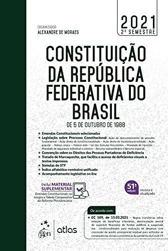 Constituição da República Federativa do Brasil - De 5 de Outubro de 1988