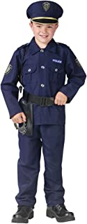 Boys Policeman Uniform Halloween Costume