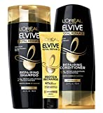 L'Oreal Paris Elvive TR5 Repairing Shampoo, Conditioner and Protein Recharge, Total Repair 5, 1 Count