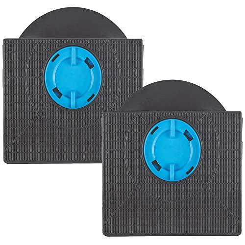 SPARES2GO Filtro de ventilación de carbón carbón compatible con campana extractora Fagor (paquete de 2)