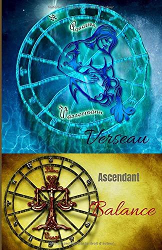 Verseau ascendant Balance: carnet personnel à remplir   signe astrologique   100 pages   Format 5,5 X 8,5 Po (environ 13 x 20 cm)