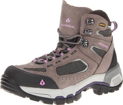 Vasque Women's Breeze 2.0 Gore-Tex Hiking Boot, Gargoyle/African Violet,9 W US