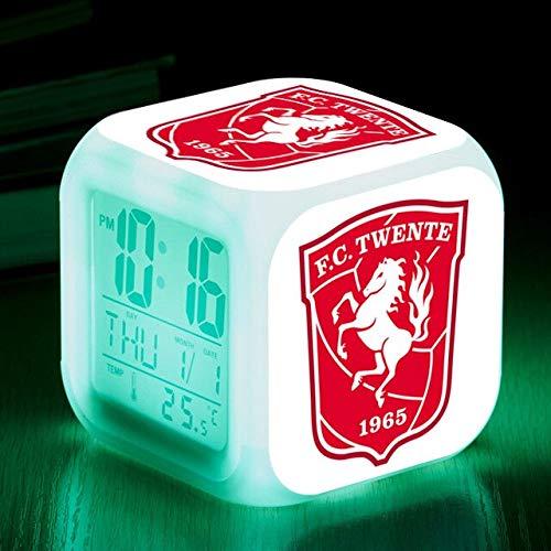Yyoutop Blitz Digitaluhr Nachtlicht Farbe Zeigen Baby Touch Beleuchtung LED Wecker Wecker