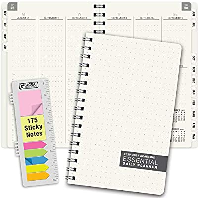Essential 5x8 Monthly & Weekly 2020-2021 Planner - (5x8 - June 2020 Through July 2021)