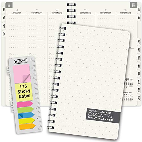 Essential 8.5x11 Monthly & Weekly 2019-2020 Planner - (8.5x11 - June 2019 through July 2020)