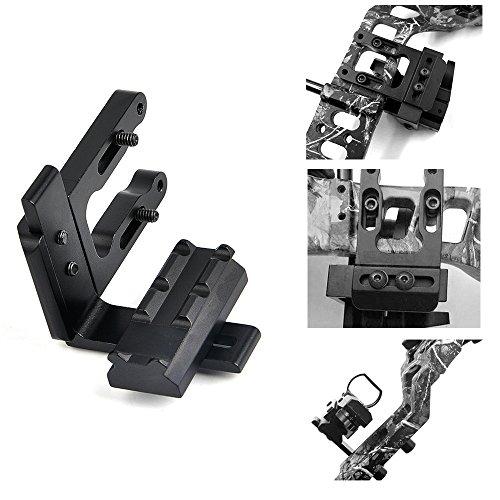 BESTSIGHT Bow Mount Bracket for Red/Green Dot Scope and Sight