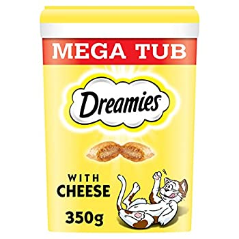 Dreamies Friandises pour chats - Fromage ( Cheese MegaTub ) - 350g (2 Paquets)