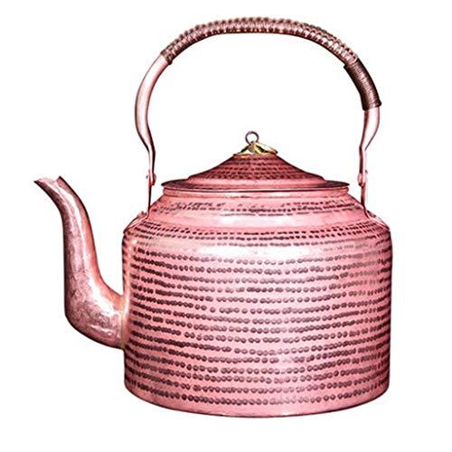 LCFF Épaississement De La Maison De La Bouilloire De Cuivre Et La Modélisation Durable Beau Pot De Cuivre Pittoresque (Size : 2l)