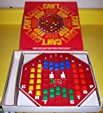 ORIGINAL VINTAGE 1980 'CAN'T STOP' ANTIQUE BOARD GAME-COLLECTIBLE TOY
