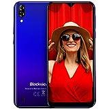 Blackview A60 (2019) Téléphone Portable Pas Cher Écran 6.1 Pouces 4080mAh Batterie Double Cameras 13MP+5MP Double Nano-SIM...