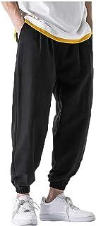 ITISME Pantaloni Uomo Tasche Laterali Pantaloni Cargo Slim Fit Lavoro Elegante Streetwear Stile Coreana Casual Hip Hop Rag...