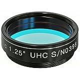 Explore Scientific Filtro de Niebla UHC de 1,25 Pulgadas para telescopios para Aumentar el Contraste.