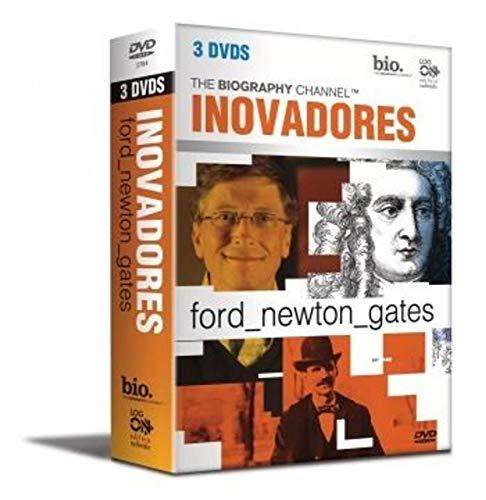 Inovadores - The biography Ford, Newton, Gates (raro) Box com 3 dvds