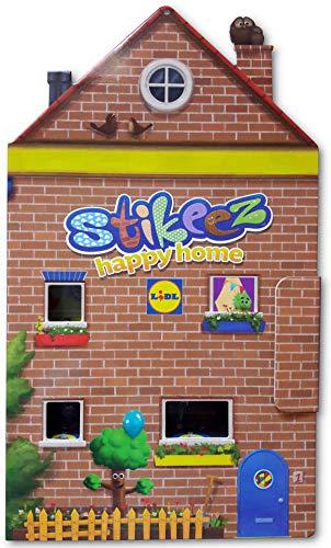 Stikeez 2020 Happy Home CASETTA Box Contenitore Vuoto Versione Italiana