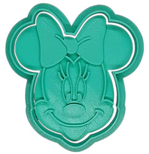 Molde Cortador de Galletas - Dibujos Animados Disney – Minnie Mouse (Turquesa)