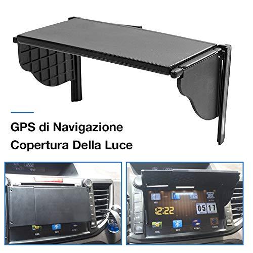 miss-an Blendschutz Für Navigationsgeräte,5,5-10 Zoll Auto GPS Sunshade Sonnenblende Sonnenschutz, Mit Einer Displaybreite Von 162x122x25mm