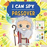 I Can Spy Passover: A Fun Educational Guessing Game Book for Kids Ages 2-6   Activity Book for Toddlers & Preschoolers