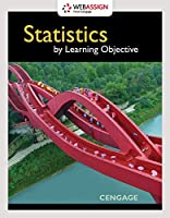 Statistics by Learning Objective Front Cover
