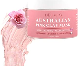 Australian Pink Clay Face Mask Blemish Pore Purifying Clay