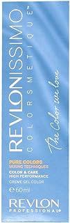 Revlon Revlonissimo Colorsmetique Pure Colors, Tinte para el Cabello 011 Gris - 60 ml