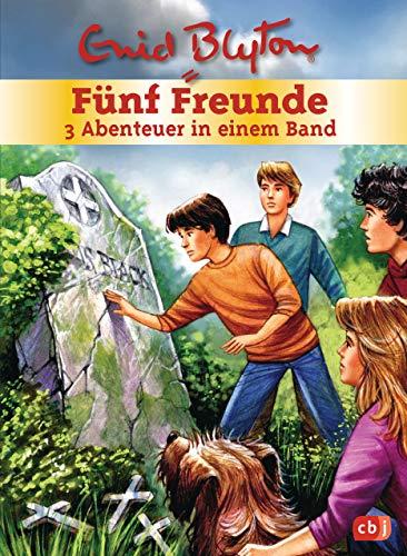 Fünf Freunde - 3 Abenteuer in einem Band: Sammelband 5: Fünf Freunde und das Geisterschiff / Fünf Freunde jagen den Vampir / Fünf Freunde und der Fluch der Wikinger (Doppel- und Sammelbände, Band 5)