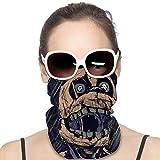 UV Protection Tube Masks, Men Women Anti Dust Breathable Balaclava, FNAF Springtrap Fan Painting Art Head Wrap Head Scarf for Motorcycle Fishing