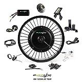 "EBIKELING 48V 1200W 20"" Fat Direct Drive Waterproof Electric Bicycle Rear Wheel Ebike Conversion Kit (Rear/LCD/Twist)"
