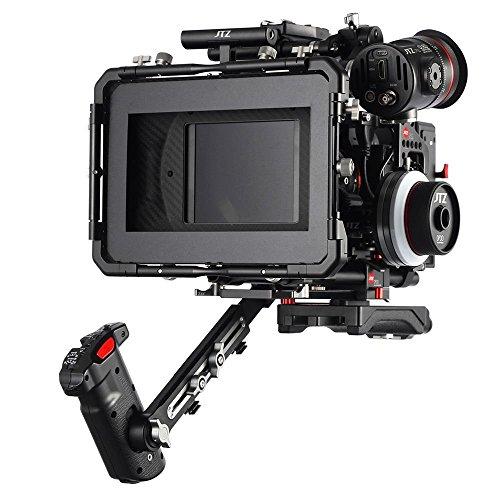 JTZ DP30 Rig for Panasonic GH3 GH4 GH5 GH5s (DP30 Cage Hand Grip Rig + Folgen Focus + Matte Box für GH3 / 4/5 / 5s)