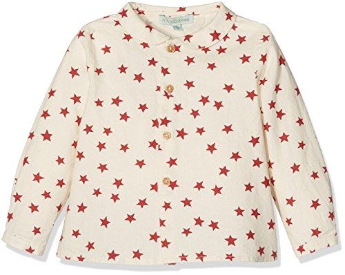 Nanos 2613315325 Camisa, Granate, 6M para Bebés