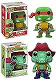 Funko POP! Teenage Mutant Ninja Turtles: Raphael + Leatherhead (Specialty Series) – Vinyl Figure Set NEW