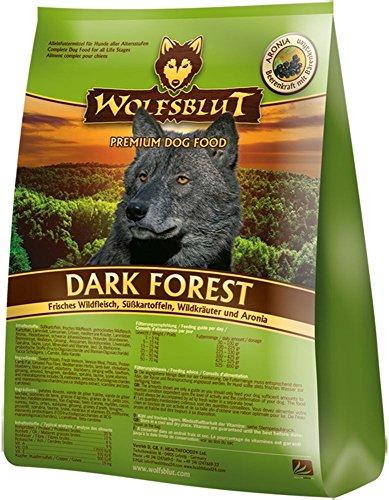 Wolfsblut | Dark Forest | 500 g | Wild | Trockenfutter | Hundefutter | Getreidefrei