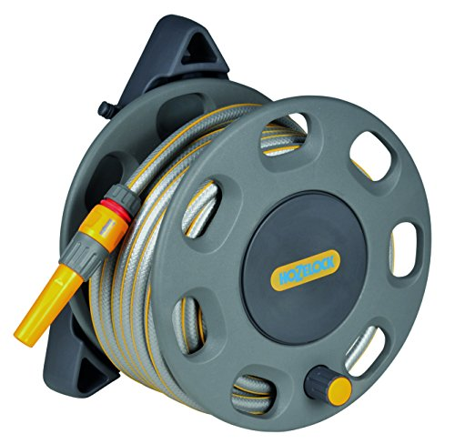 Hozelock 30m Wall Mounted Reel with 15m hose