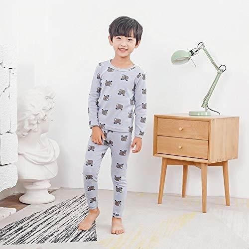 Calidad ✽High: pijamas de los niños son fuertes y duraderas, sin la formación de bolas o decoloración, ninguna deformación, no tiene efectos secundarios sobre la piel delicada de los niños, y excelente artesanía. ✽Extreme confort y libertad: Este con...