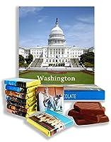 面白いワシントンシティの食べ物の贈り物⌘「ワシントン」⌘素敵なワシントンのチョコレートセット! (ホワイトハウス)