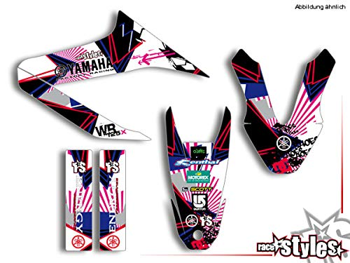Yamaha WR 125 X !!! Premium Factory DEKOR Decals Sticker Aufkleber KIT 09-17