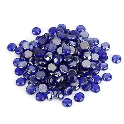 Stanbroil 10-Pound Fire Glass Beads - 1/2 inch Luster Fire Glass Drops...
