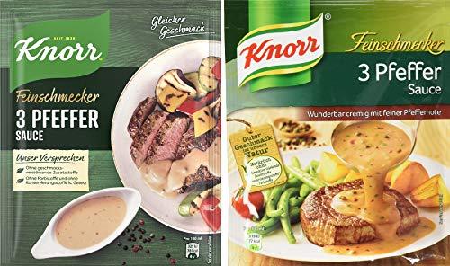 Knorr Feinschmecker 3 Pfeffer Soße, 23er-Pack (23 x 250 ml)