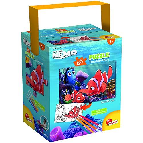 Lisciani Giochi - Disney Puzzle in a Tub Mini 60 - Nemo Puzzle per Bambini, 86191