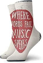 Pattern Socks,Socks Women Low Cut,Sock For Flats,Rock Music3.3