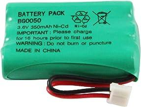 WalR Rechargeable Cordless Phone Battery Ni-CD, for Hi Capacity B-768 B768 Interstate ATEL0295 TEL0295 Jasco GE TL26158 TL...