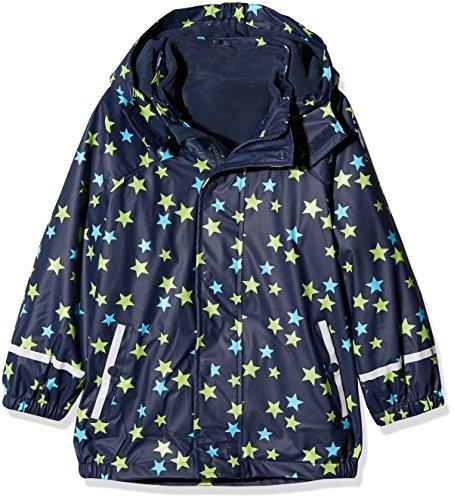 Sterntaler Kinder Unisex gefütterte Regenjacke, 3in1 Multifunktionsjacke, Alter: 3-4 Jahre, Größe: 104, Blau