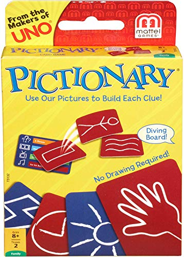 Mattel Pictionary Card Game -- 2 per Case.