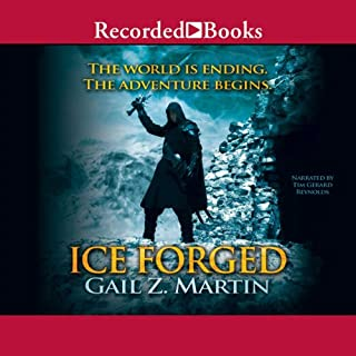 Ice Forged audiobook cover art